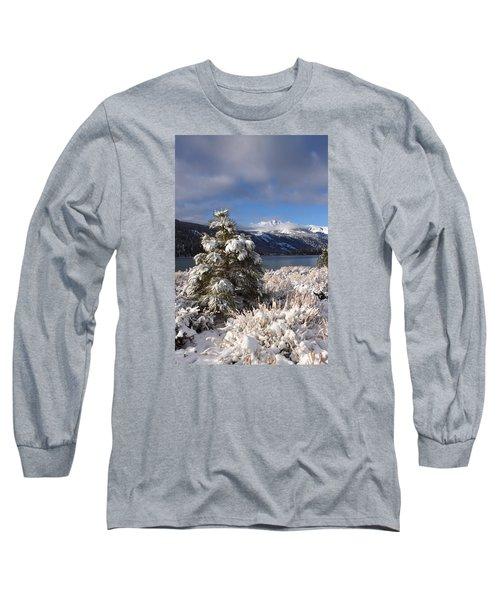 Snowy Pine  Long Sleeve T-Shirt