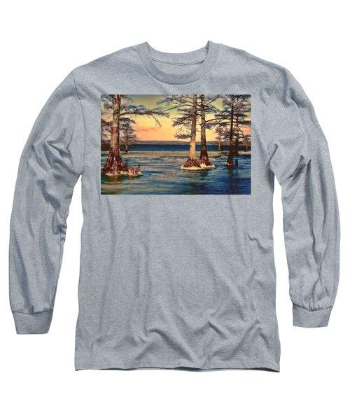 Snowy Reelfoot Long Sleeve T-Shirt