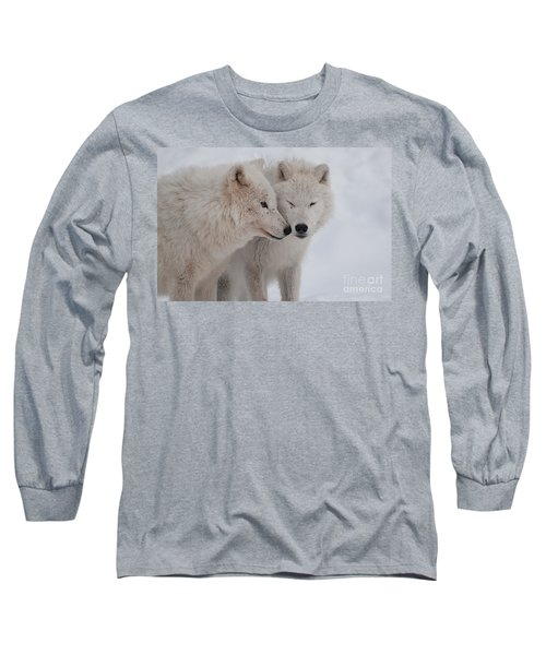 Snuggle Buddies Long Sleeve T-Shirt by Bianca Nadeau