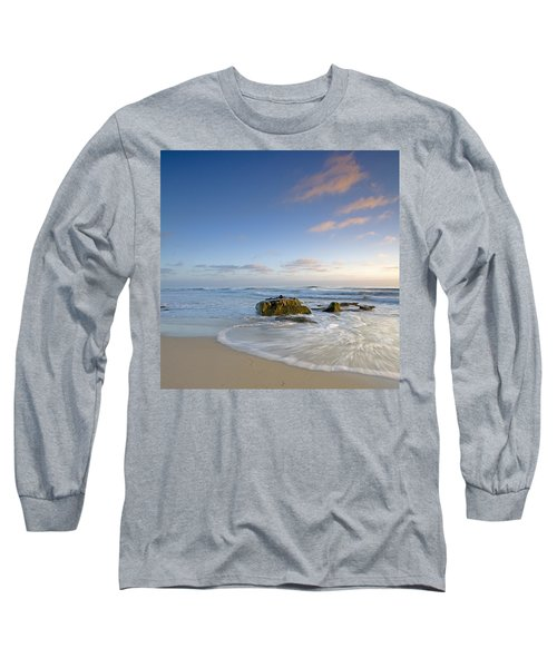 Soft Blue Skies Long Sleeve T-Shirt by Peter Tellone