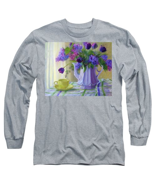 Soft Light Long Sleeve T-Shirt by Bonnie Mason