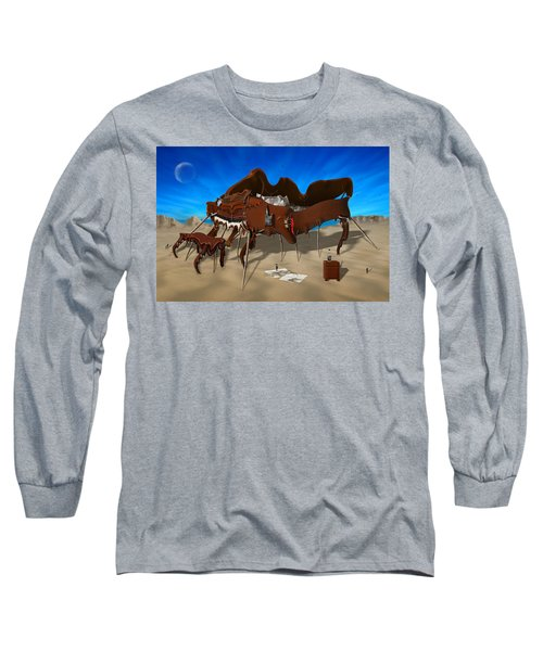 Softe Grand Piano Se Long Sleeve T-Shirt by Mike McGlothlen