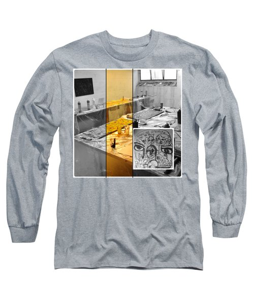 Long Sleeve T-Shirt featuring the photograph Sogno Nel Presente Part One by Sir Josef - Social Critic - ART