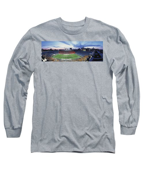 Soldier Field Football, Chicago Long Sleeve T-Shirt