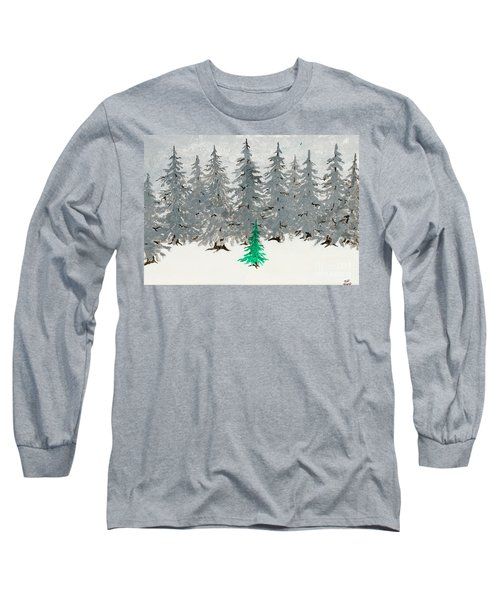 Solitary Long Sleeve T-Shirt by Stefanie Forck