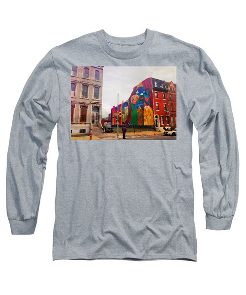 Some Color In Philly Long Sleeve T-Shirt