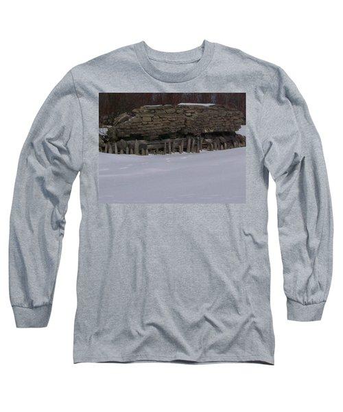 John Hinker's Coal Dock. Long Sleeve T-Shirt by Jonathon Hansen