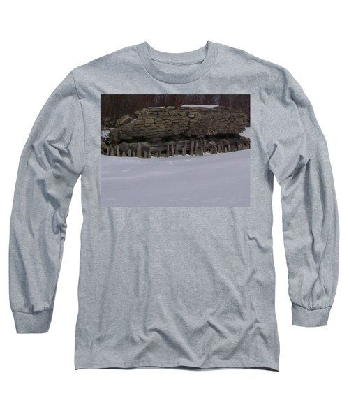 John Hinker's Coal Dock. Long Sleeve T-Shirt