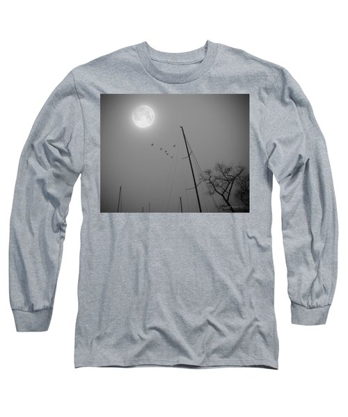 South For The Winter Long Sleeve T-Shirt by Brian Wallace