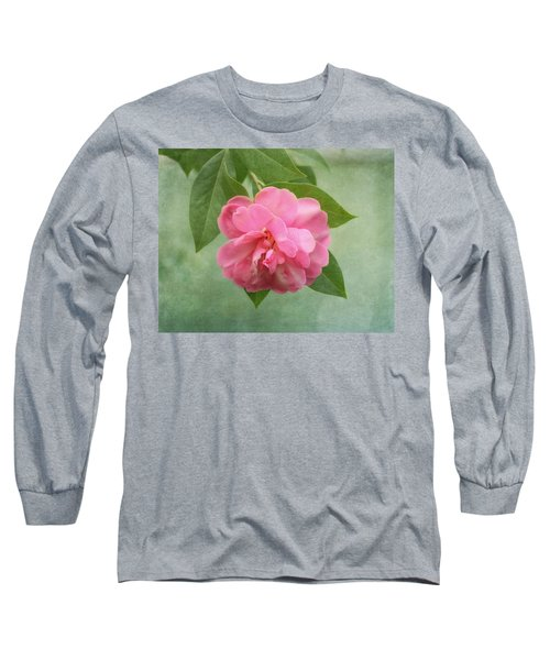 Southern Camellia Flower Long Sleeve T-Shirt