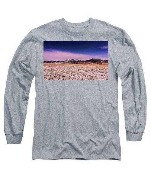 Southern Colorado Mountains Long Sleeve T-Shirt