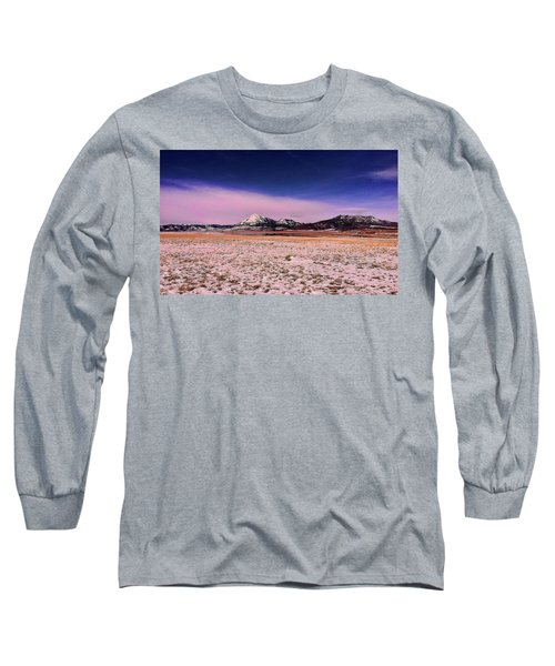 Southern Colorado Mountains Long Sleeve T-Shirt