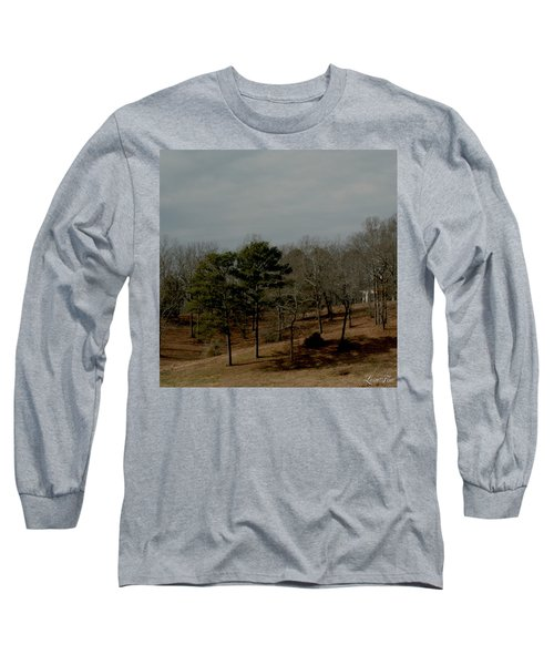 Long Sleeve T-Shirt featuring the photograph Southern Landscape by Lesa Fine