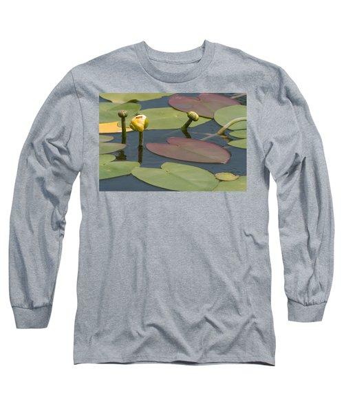 Spatterdock Heart Long Sleeve T-Shirt