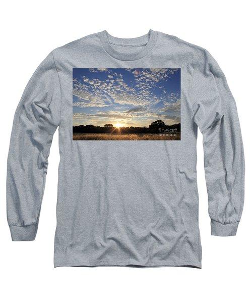 Spectacular Sunset England Long Sleeve T-Shirt