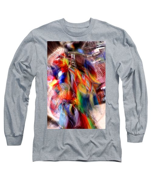 Spirits 3 Long Sleeve T-Shirt by Joe Kozlowski