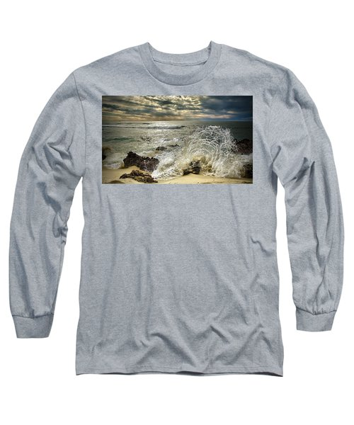 Splash N Sunrays Long Sleeve T-Shirt by Kym Clarke