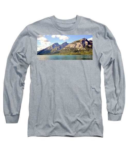 Spray Lake Mountains Long Sleeve T-Shirt