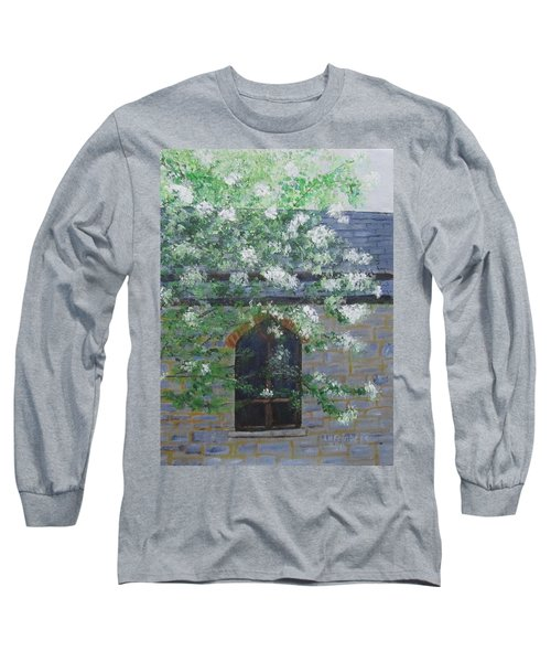Spring At Grace Church Long Sleeve T-Shirt
