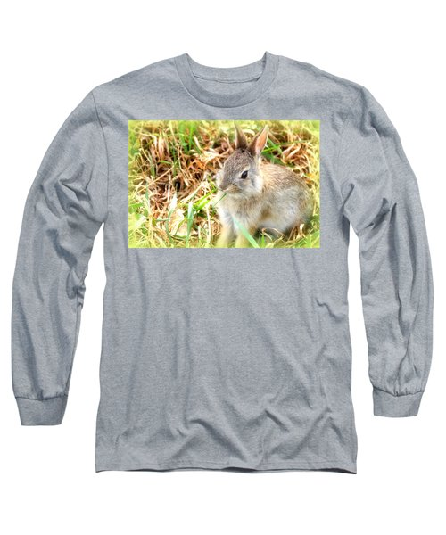 Spring Bunny Long Sleeve T-Shirt