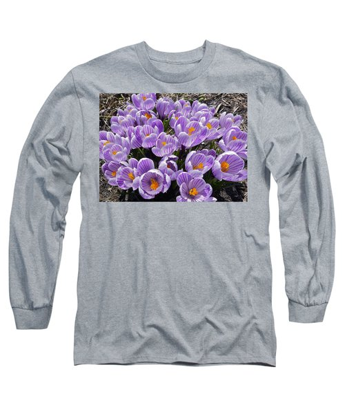 Spring Faces Long Sleeve T-Shirt