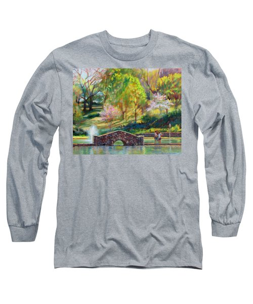 Spring Morning Long Sleeve T-Shirt by Bonnie Mason