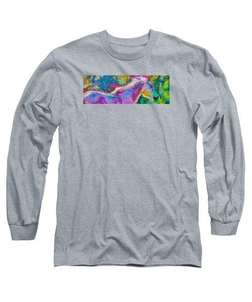 Spring Rain Long Sleeve T-Shirt by Greg Collins