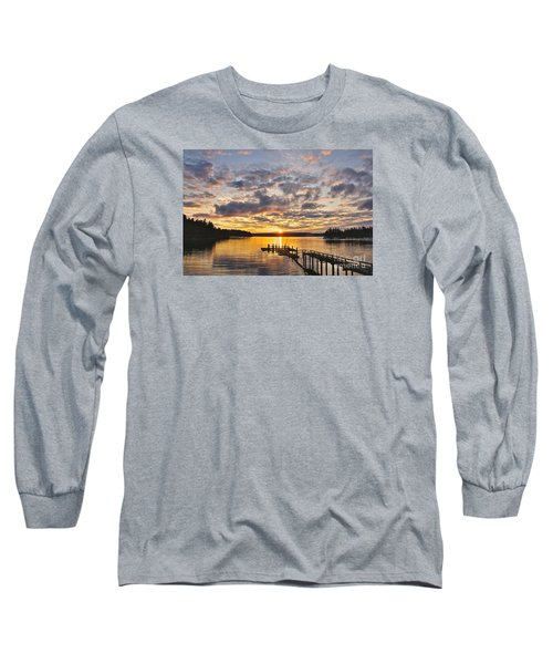 Long Sleeve T-Shirt featuring the photograph Spring Sunrise by Sean Griffin