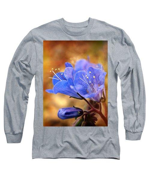 Spring Wildflowers - The Desert Bluebells Long Sleeve T-Shirt