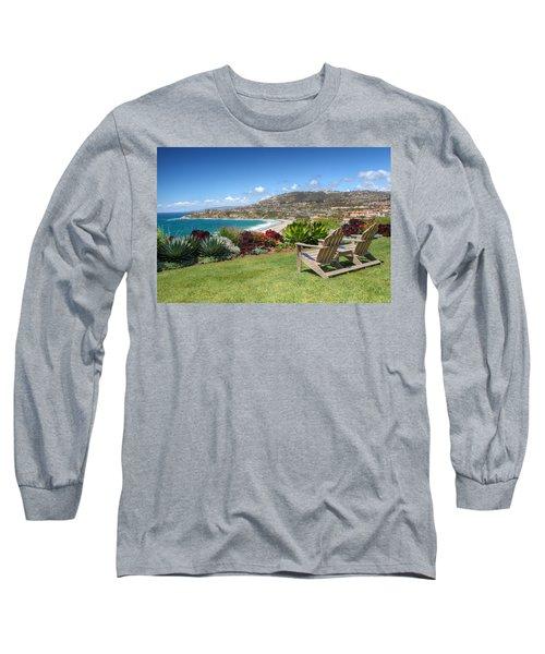 Springtime At Salt Creek Beach Long Sleeve T-Shirt