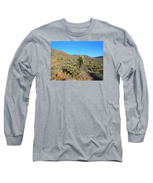 Springtime In The Cerbat Mountain Foothills Long Sleeve T-Shirt