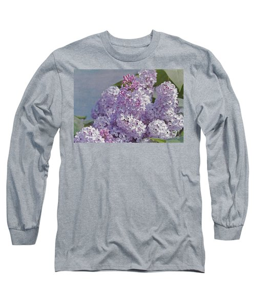 Springtime Lilacs Long Sleeve T-Shirt