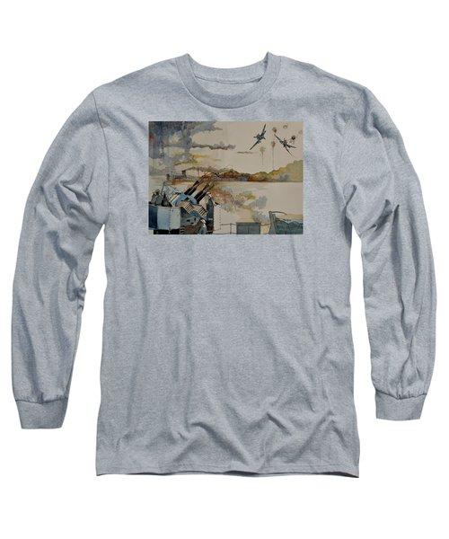 Ss Ohio II Long Sleeve T-Shirt by Ray Agius