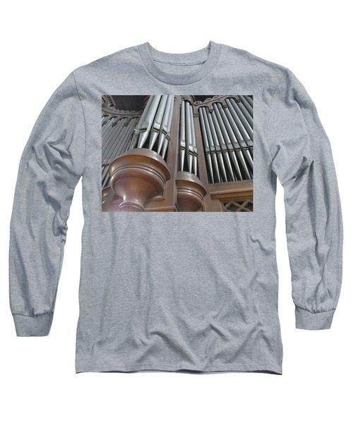 St Augustin Organ Long Sleeve T-Shirt