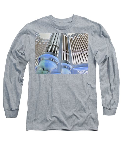 St Augustine Fantasy Organ Long Sleeve T-Shirt