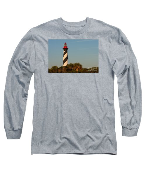 St. Augustine Lighthouse #3 Long Sleeve T-Shirt by Paul Rebmann