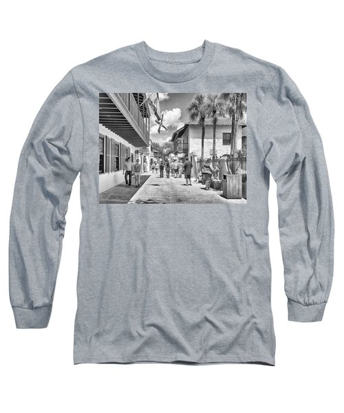 Long Sleeve T-Shirt featuring the photograph St. Geroge Street by Howard Salmon