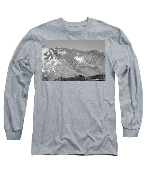 St. Helen's Crater Long Sleeve T-Shirt