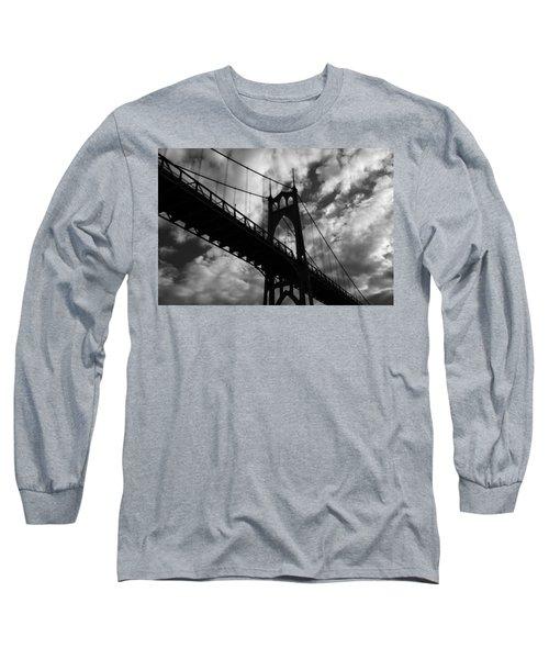St Johns Bridge Long Sleeve T-Shirt