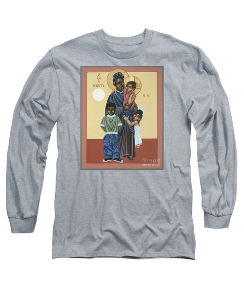 St. Josephine Bakhita Universal Sister 095 Long Sleeve T-Shirt by William Hart McNichols