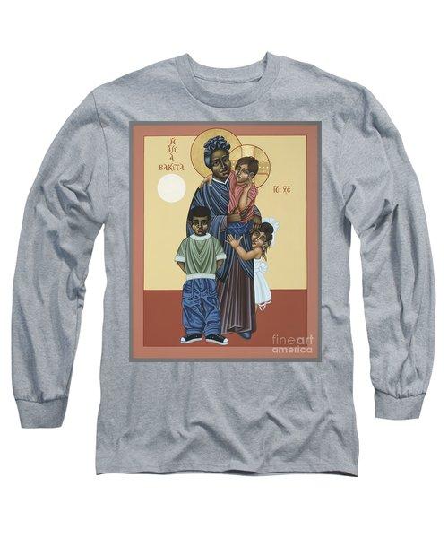 St. Josephine Bakhita Universal Sister 095 Long Sleeve T-Shirt