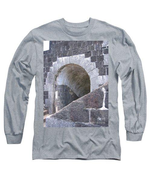St. Kitts  - Brimstone Hill Fortress Long Sleeve T-Shirt