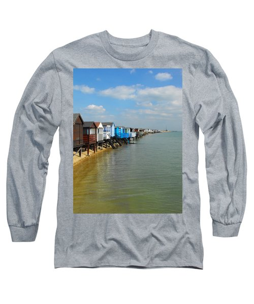 Stairs To Sea Long Sleeve T-Shirt