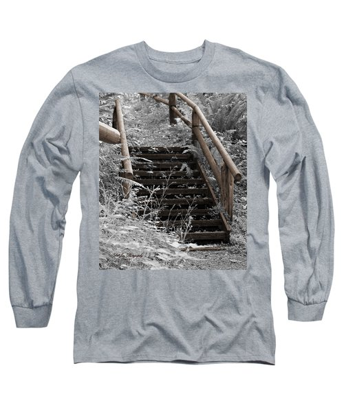 Stairway Home Long Sleeve T-Shirt