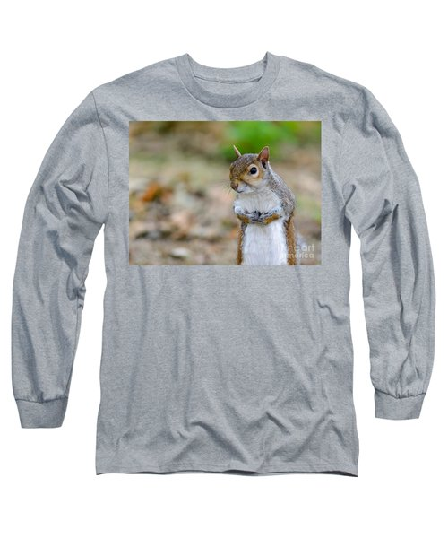Standing Squirrel Long Sleeve T-Shirt