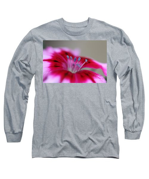 Standing Tall Sweet William Long Sleeve T-Shirt