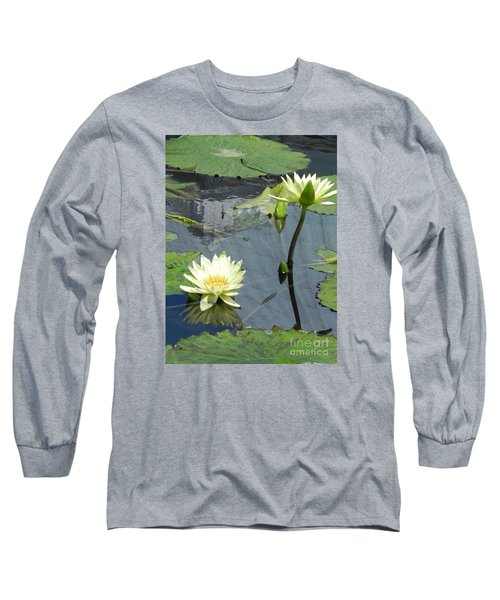 Long Sleeve T-Shirt featuring the photograph Standing Tall With Beauty by Chrisann Ellis