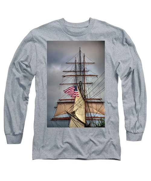 Star Of India Stars And Stripes Long Sleeve T-Shirt