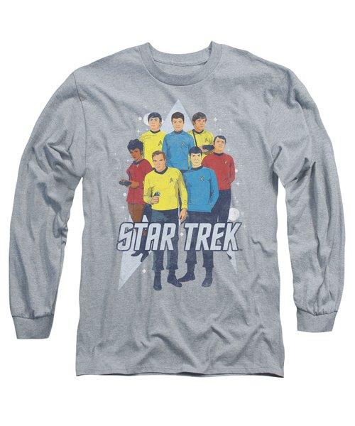 Star Trek - Here Here Long Sleeve T-Shirt