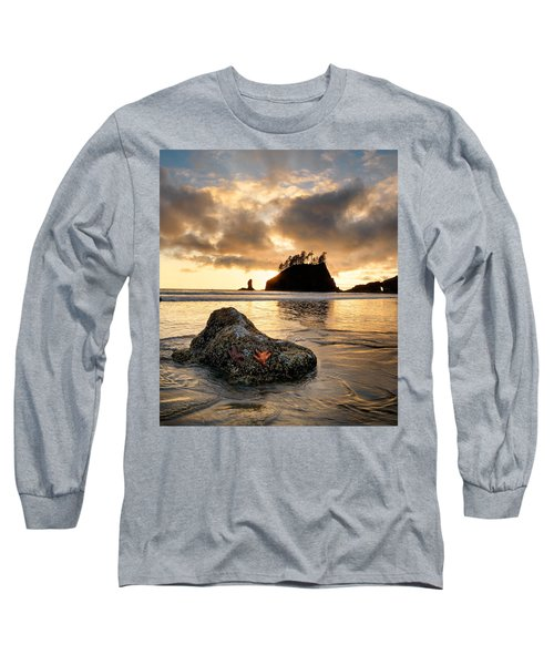 Starfish Long Sleeve T-Shirt by Leland D Howard
